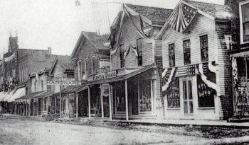 Kanestio Main Street 1887